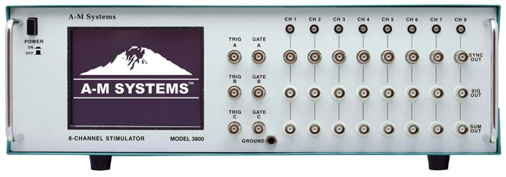 A-M Systems  Model 3800  8-Channel Programmable Stimulator