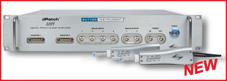 Sutter Instrument  dPatch®  Low-Noise Ultra-fast Digital Patch Clamp Amplifier System